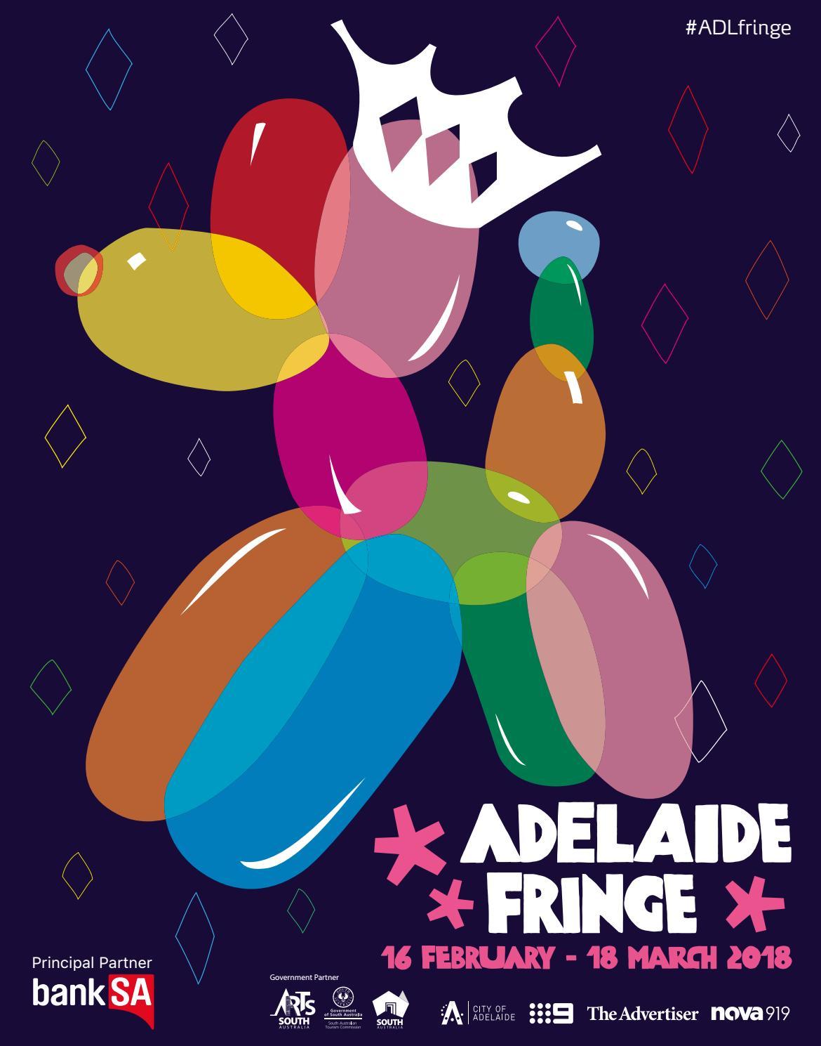 2018 Adelaide Fringe Guide By Adelaide Fringe Issuu