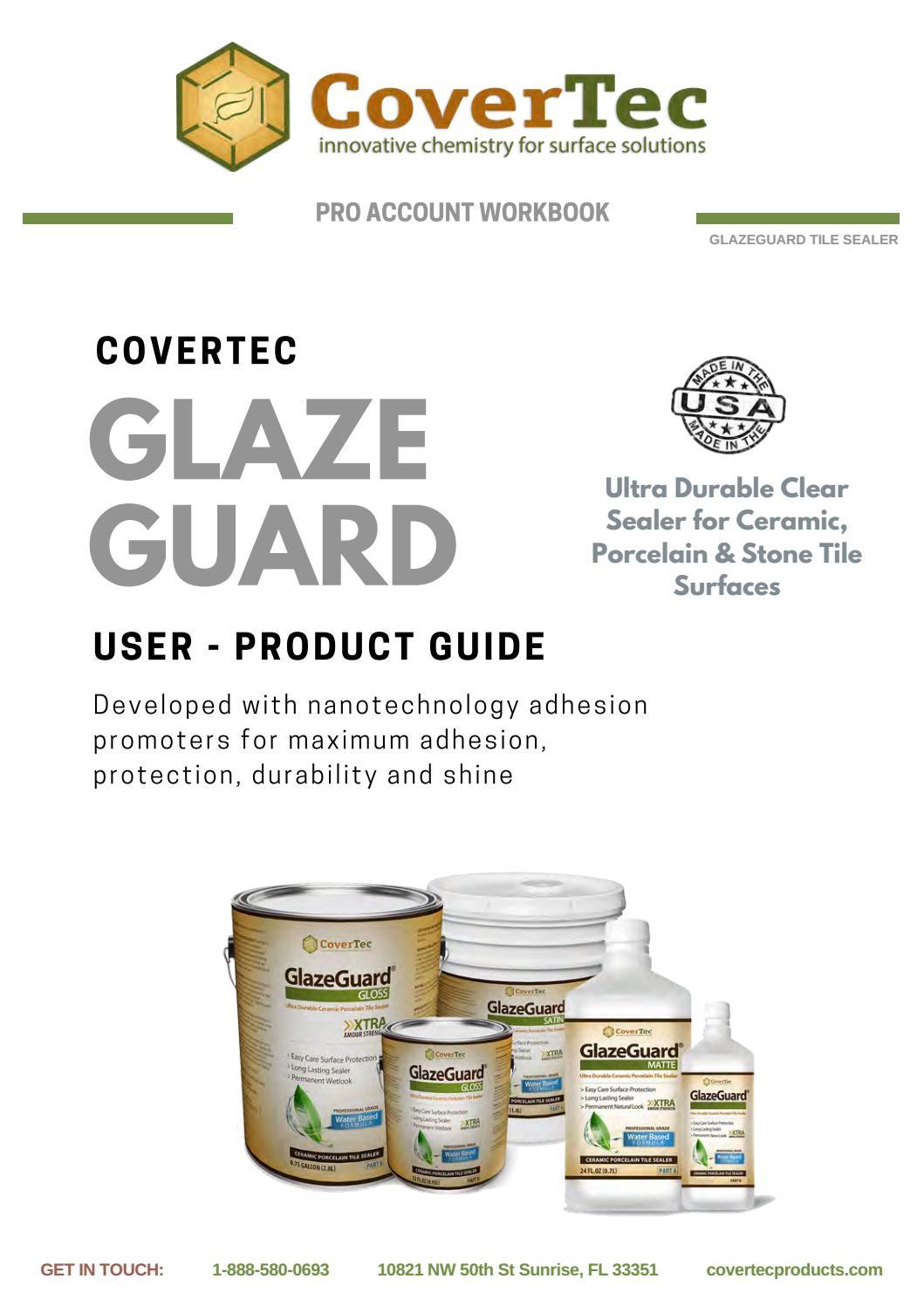glazeguard pro account guide march 2018