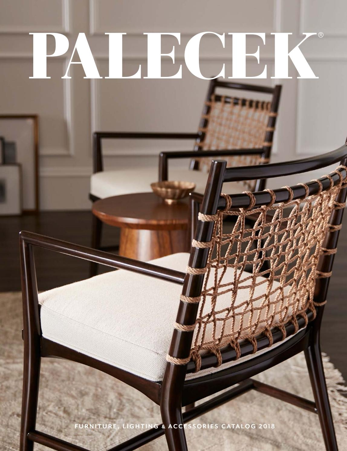 Palecek 2018 Furniture Accessories Catalog By Palecekdesign Issuu