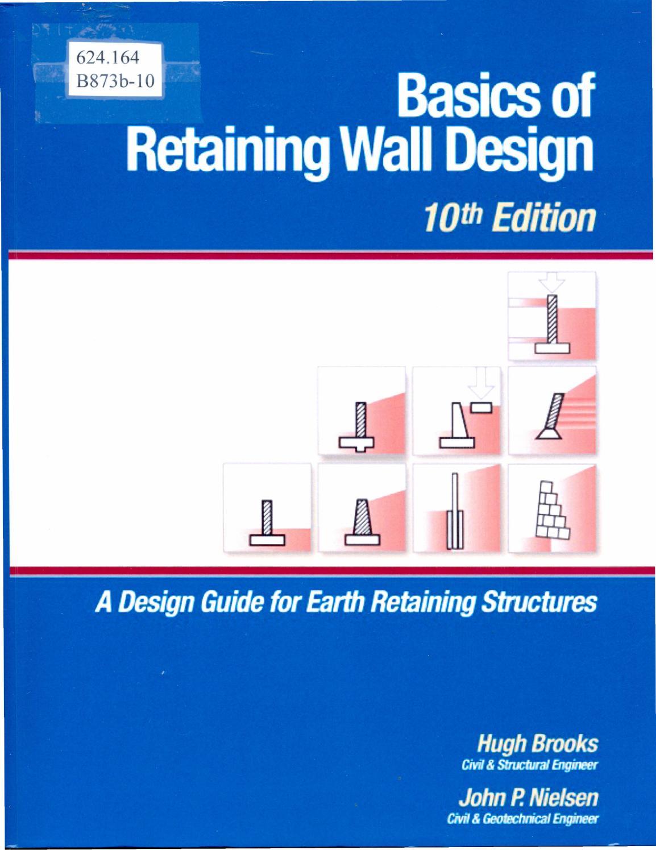 Basics of retaining wall design by Sistema de Bibliotecas
