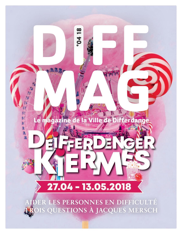 Diffmag 04 2018 By Ville De Differdange Issuu
