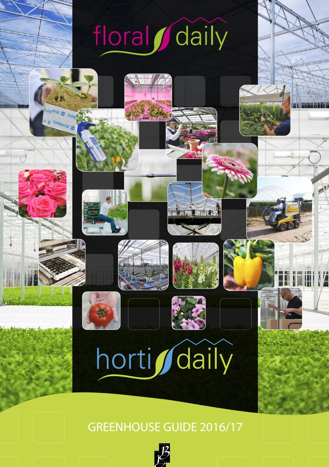 Greenhouse Guide 2016 17 By Agf Vormgeving Issuu