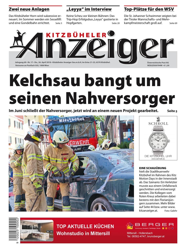 Kitzbuheler Anzeiger Kw 17 2018 By Kitzanzeiger Issuu