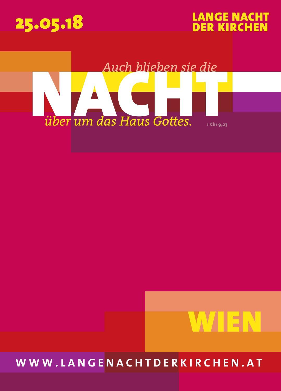 Lange Nacht Der Kirchen Programmheft 25 Mai 2018 I Wien By Lange