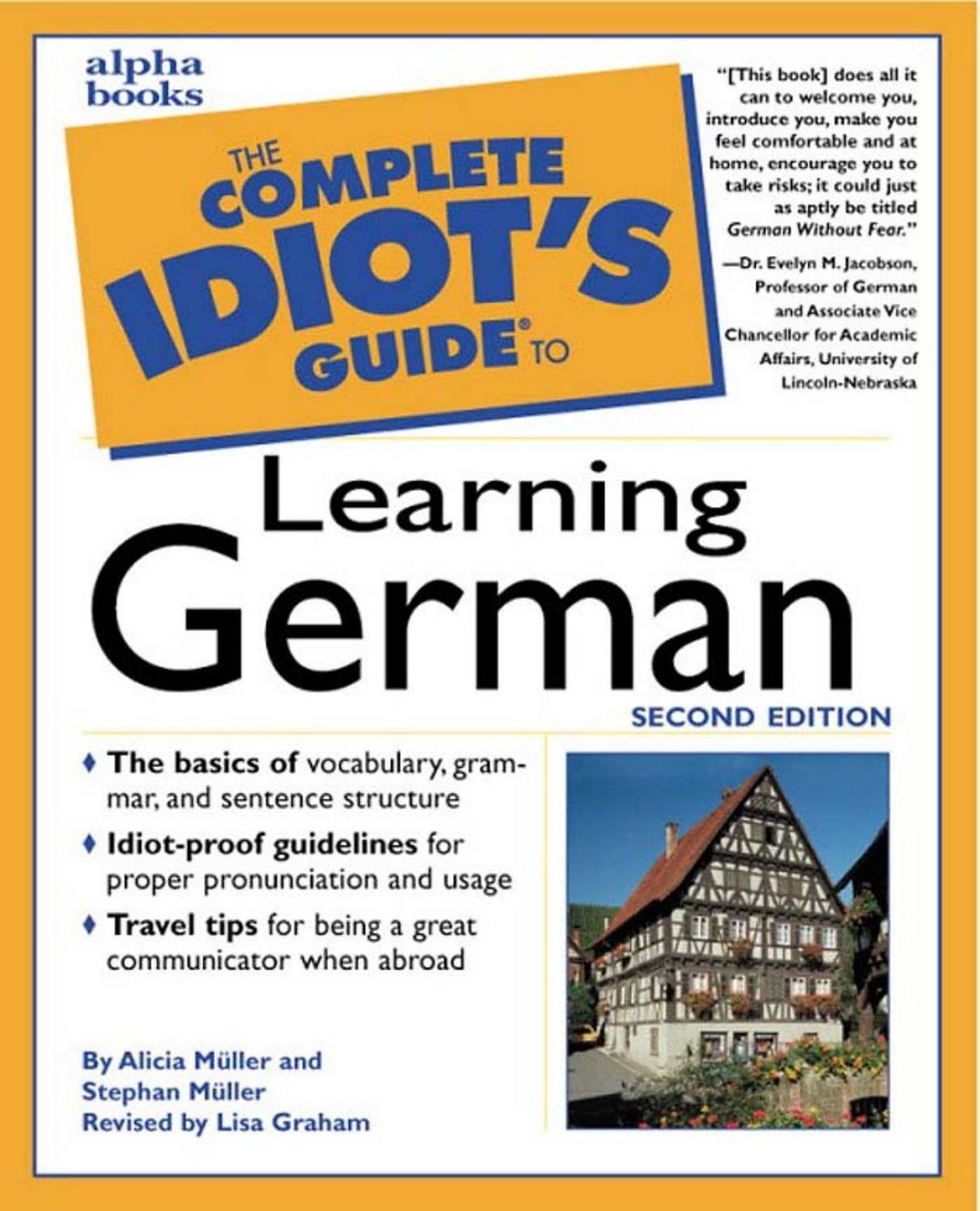 The Complete Idiot S Guide To Learning German By Mayarasblog Issuu