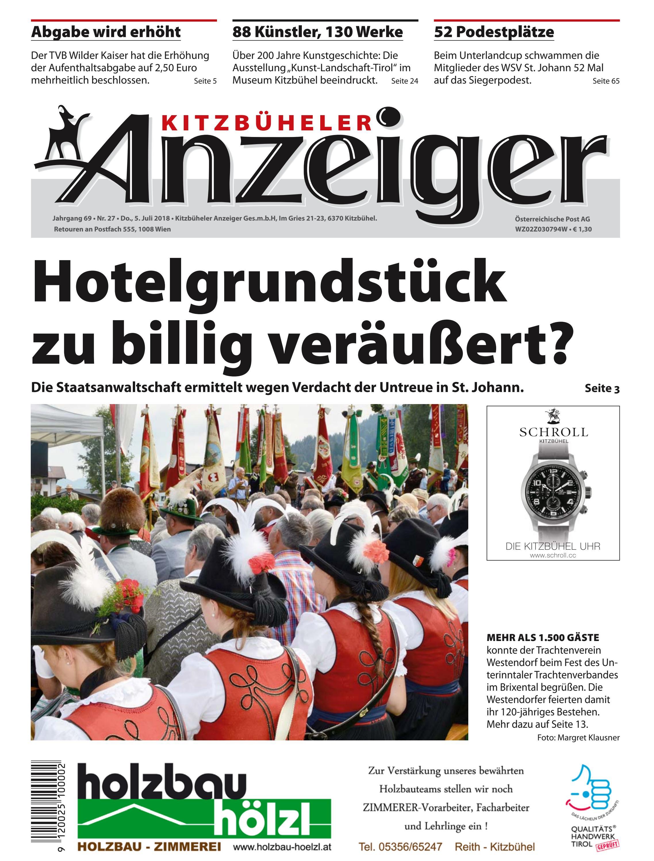 Kitzbuheler Anzeiger Kw 27 By Kitzanzeiger Issuu