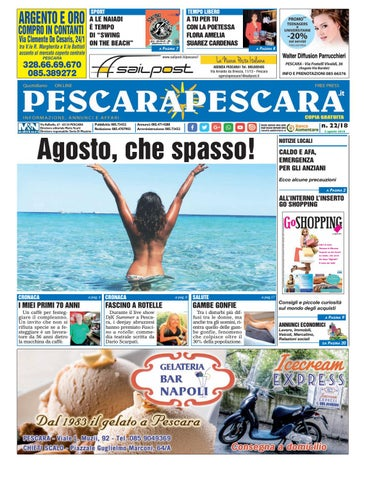 Pescarapescara N 22 Del 02 08 2018 By Pescarapescara Issuu