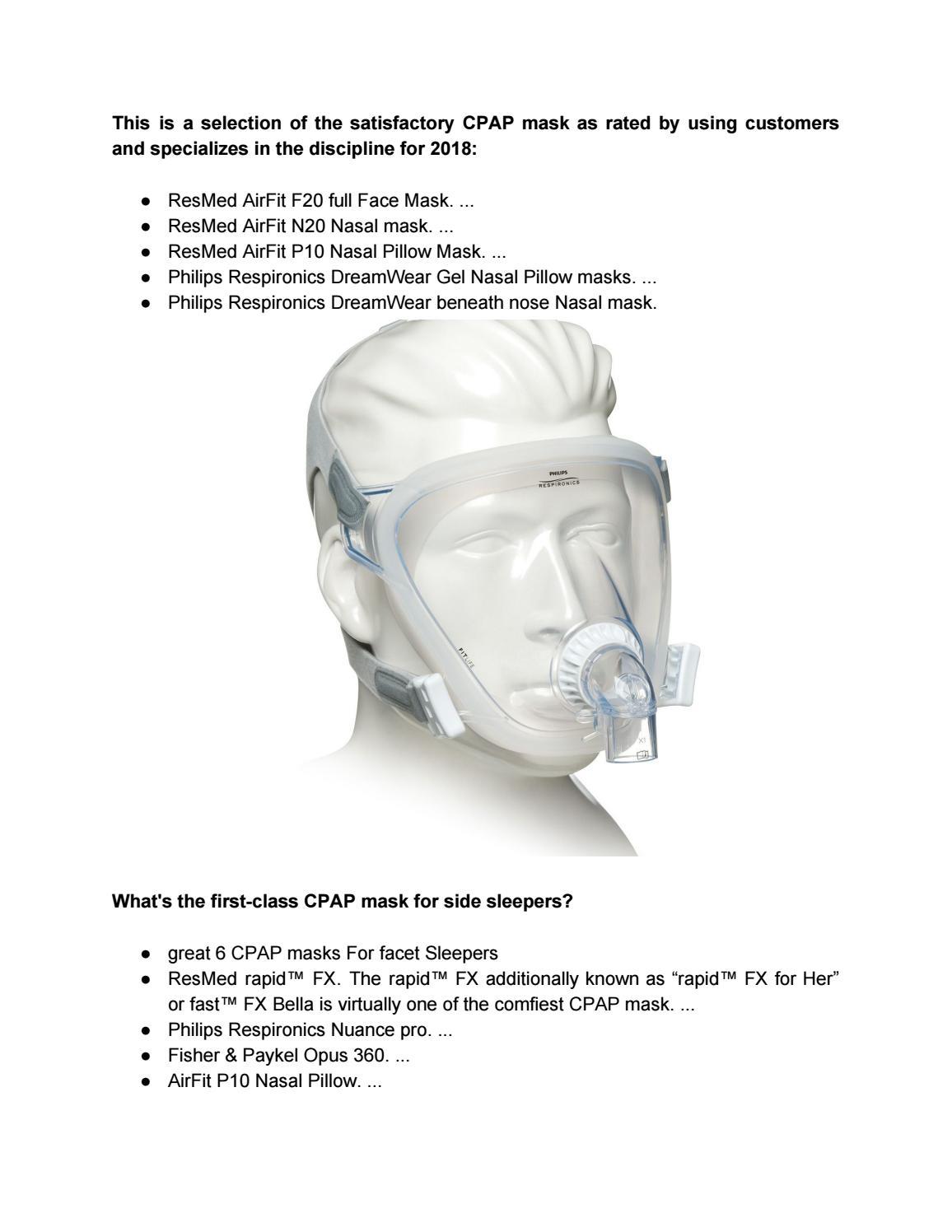 best cpap masks by michaelsjulia260