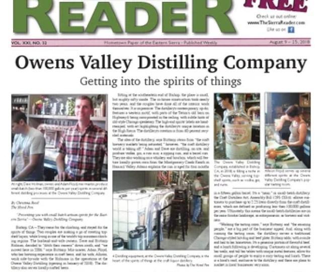 The Sierra Reader August