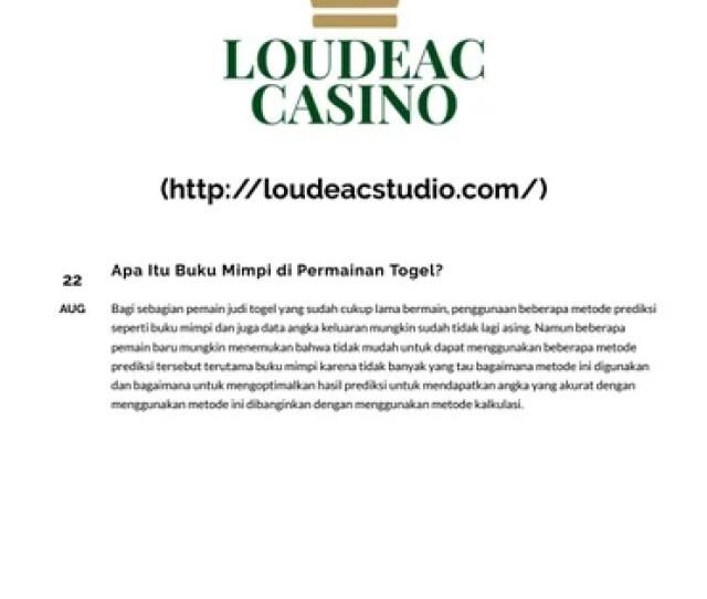 Apa Itu Buku Mimpi Di Permainan Togel By Domino Now Issuu