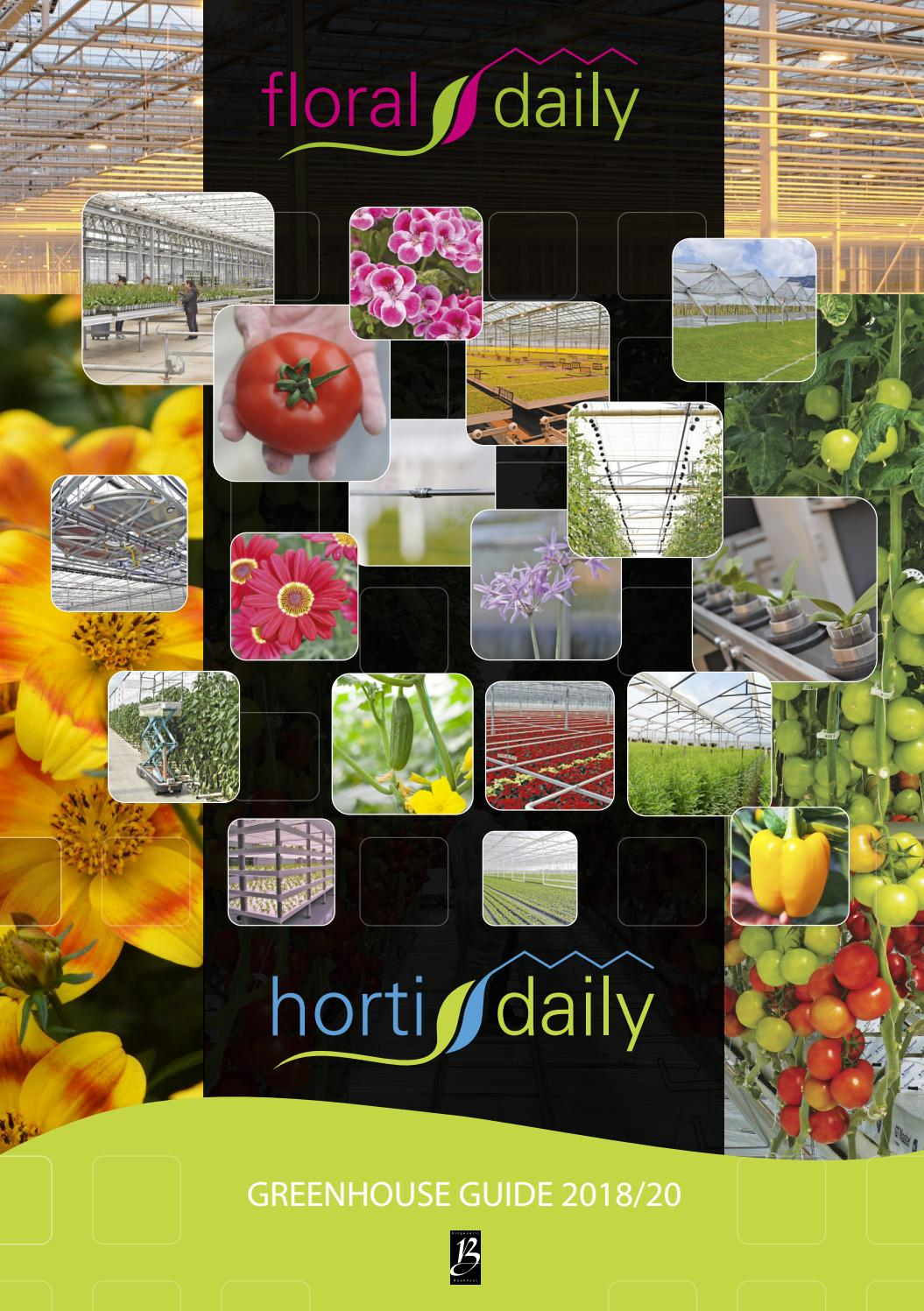 Greenhouse Guide 2018 20 By Agf Vormgeving Issuu