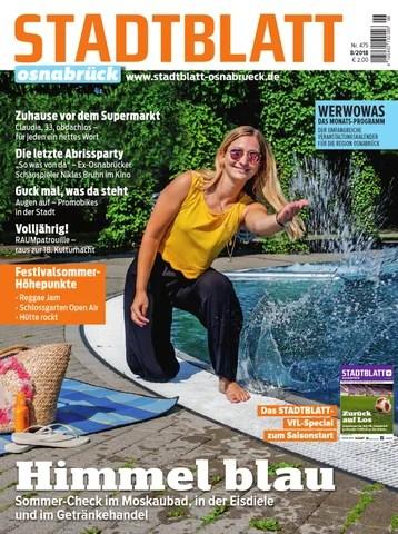 Stadtblatt 2018 08 By Bvw Werbeagentur Issuu