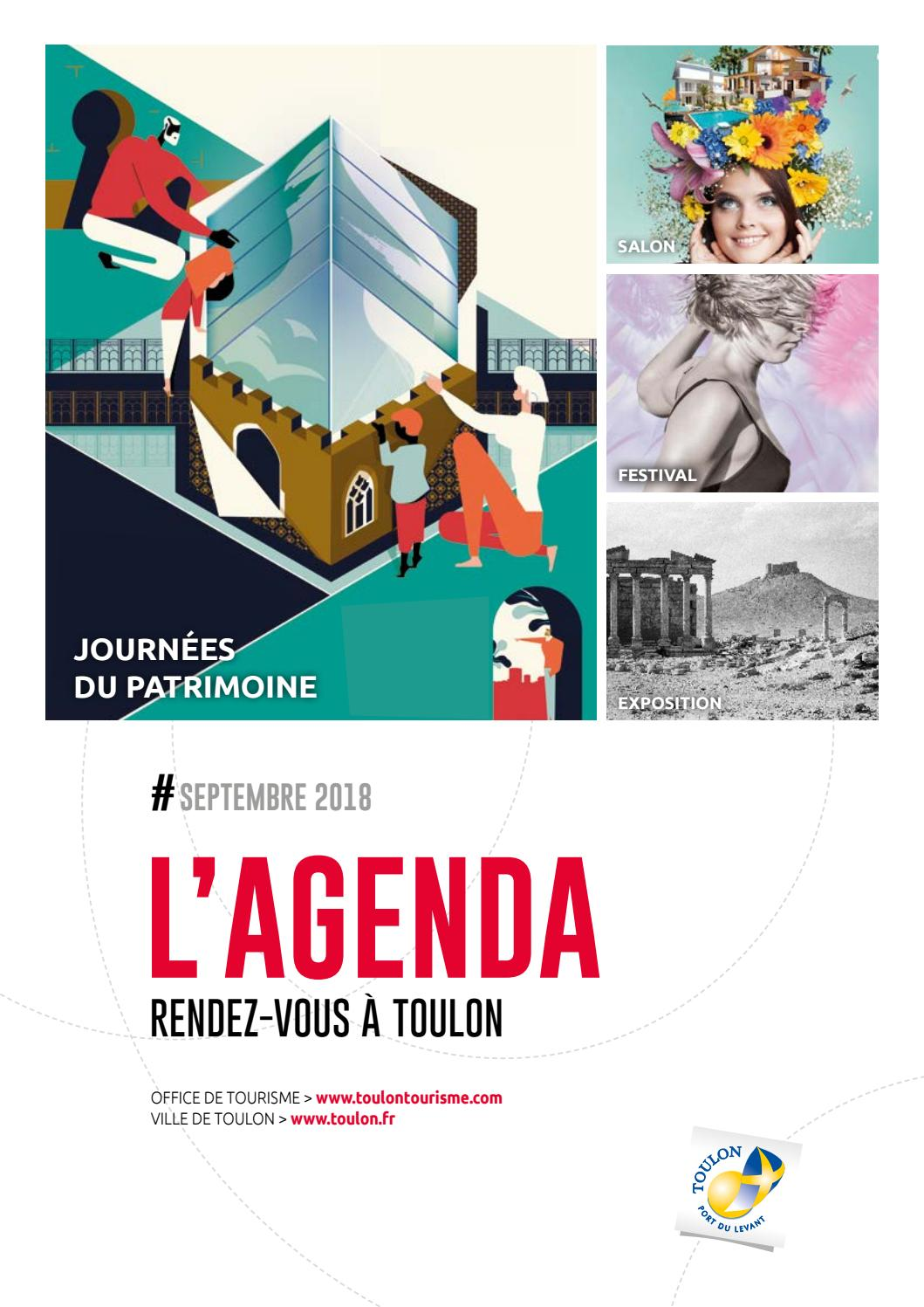 Agenda De La Ville De Toulon Septembre 2018 By Ville De Toulon