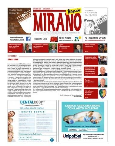 Mirano Magazine Settembre 2018 By Tobias Capo Issuu
