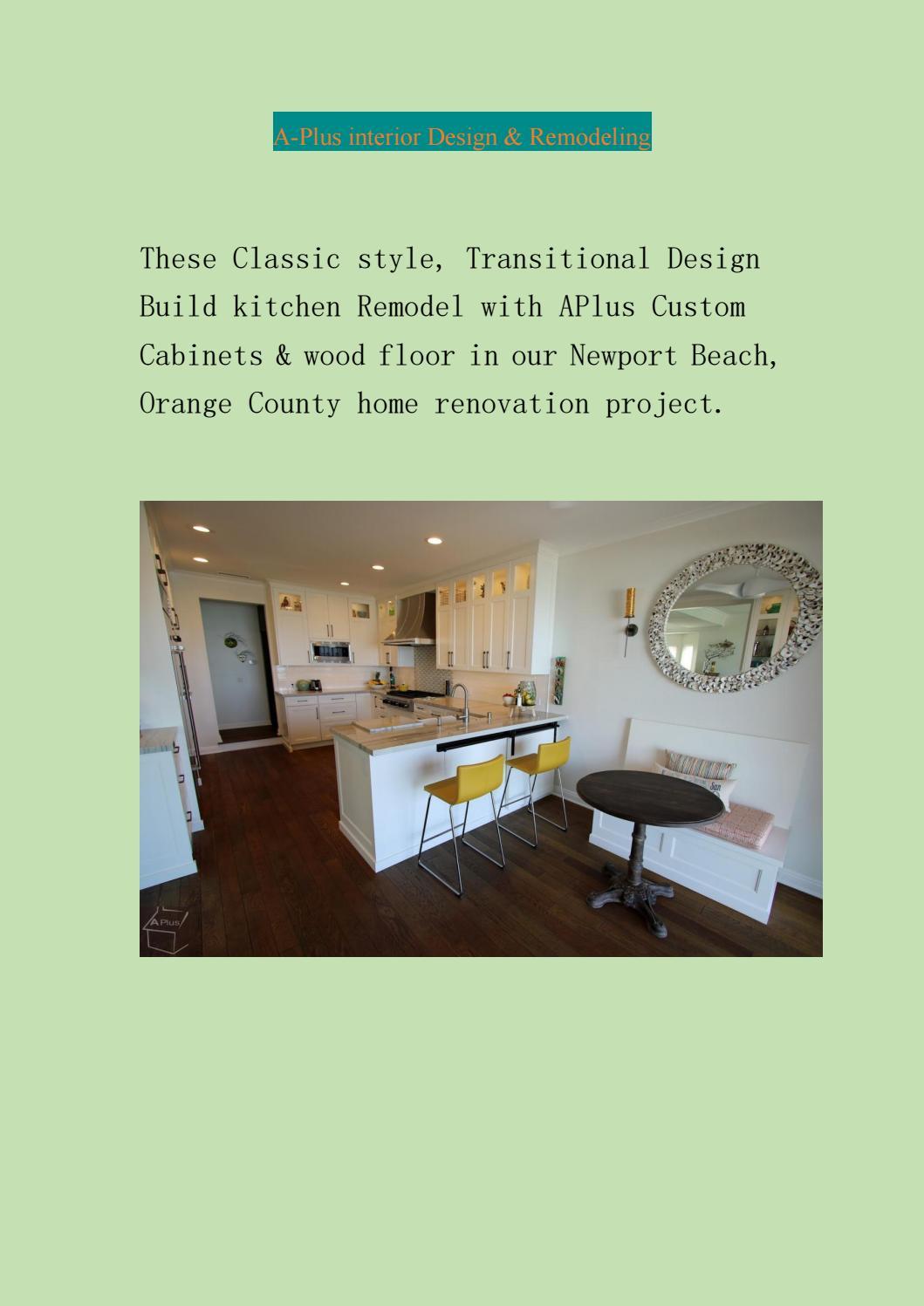 irvine kitchen remodeling by alex tabrizi - issuu