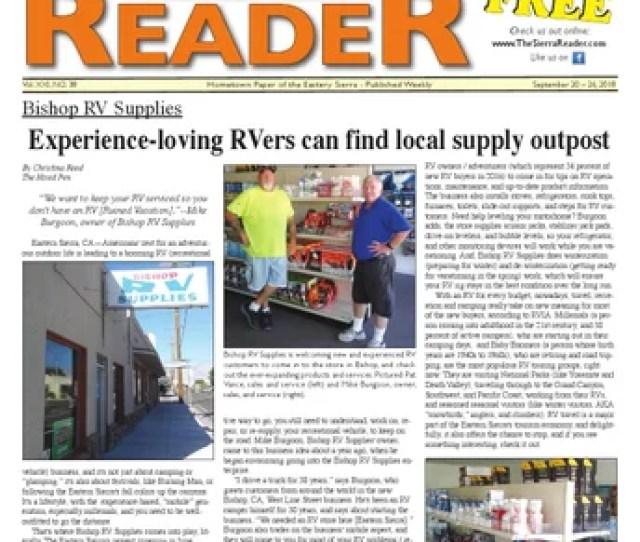 The Sierra Reader Sept