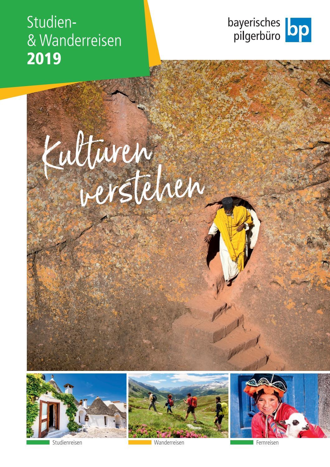 Bayerisches Pilgerburo Studien Wanderreisen 2019 By Aimcom
