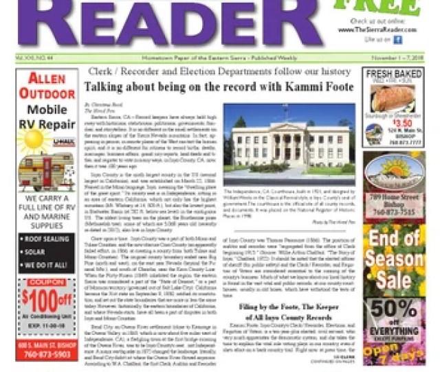 The Sierra Reader October