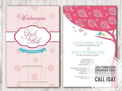 0857 9999 7691 Wa Call Isat Template Undangan Pernikahan Digital