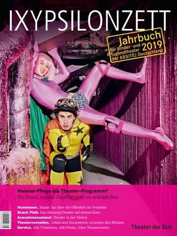 Heimat Pflege Als Theaterprogramm Ixypsilonzett Jahrbuch Fur