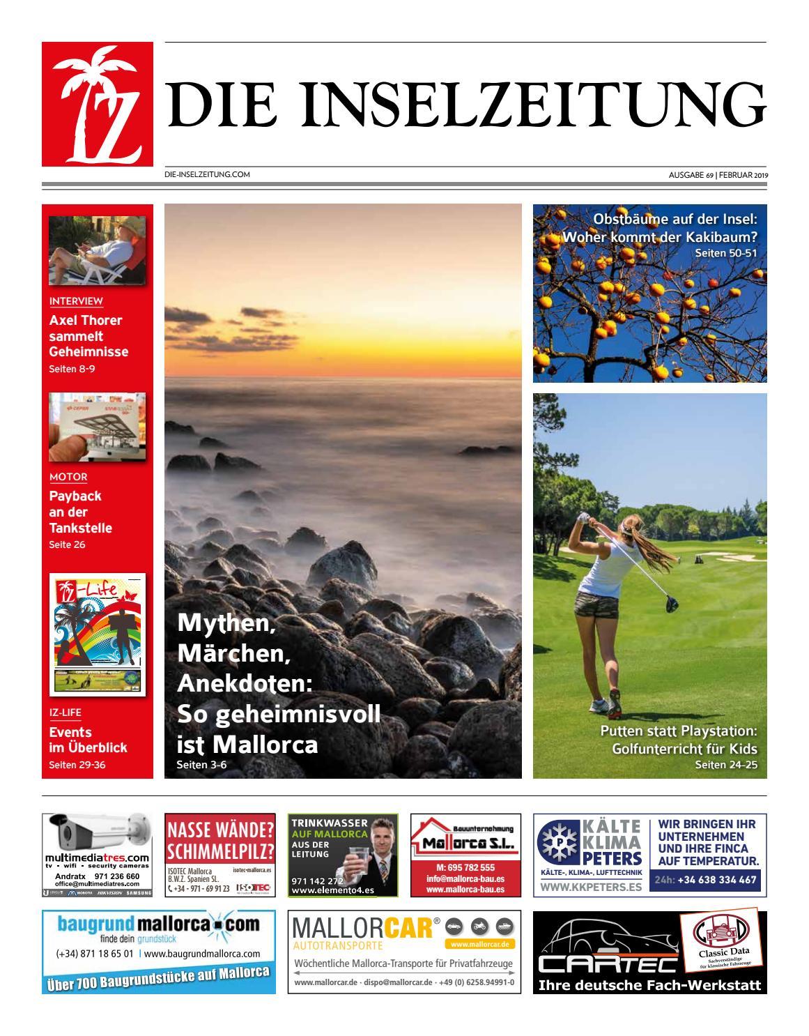 Die Inselzeitung Mallorca Februar 2019 By Die Inselzeitung