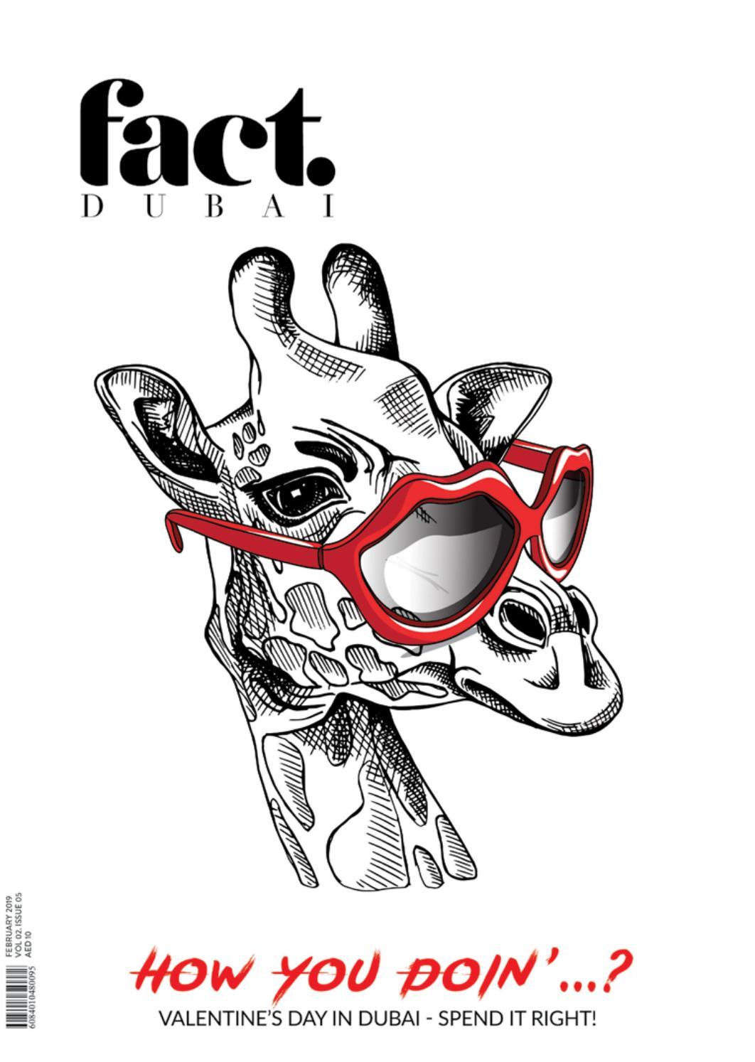 Fact Dubai February 2019 By Fact Magazine Issuu