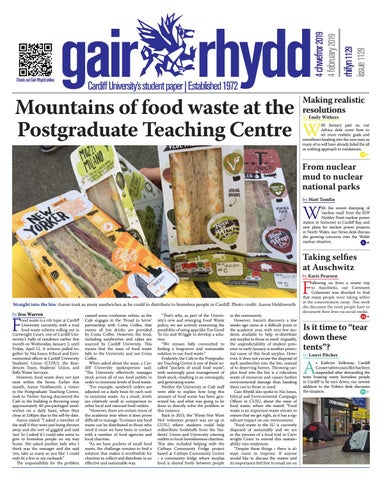Issue 1129 Monday February 4 By Cardiff Student Media Issuu