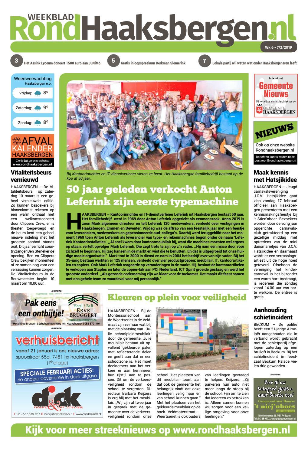 2019roha Wk06 By Weekblad Rond Haaksbergen Issuu