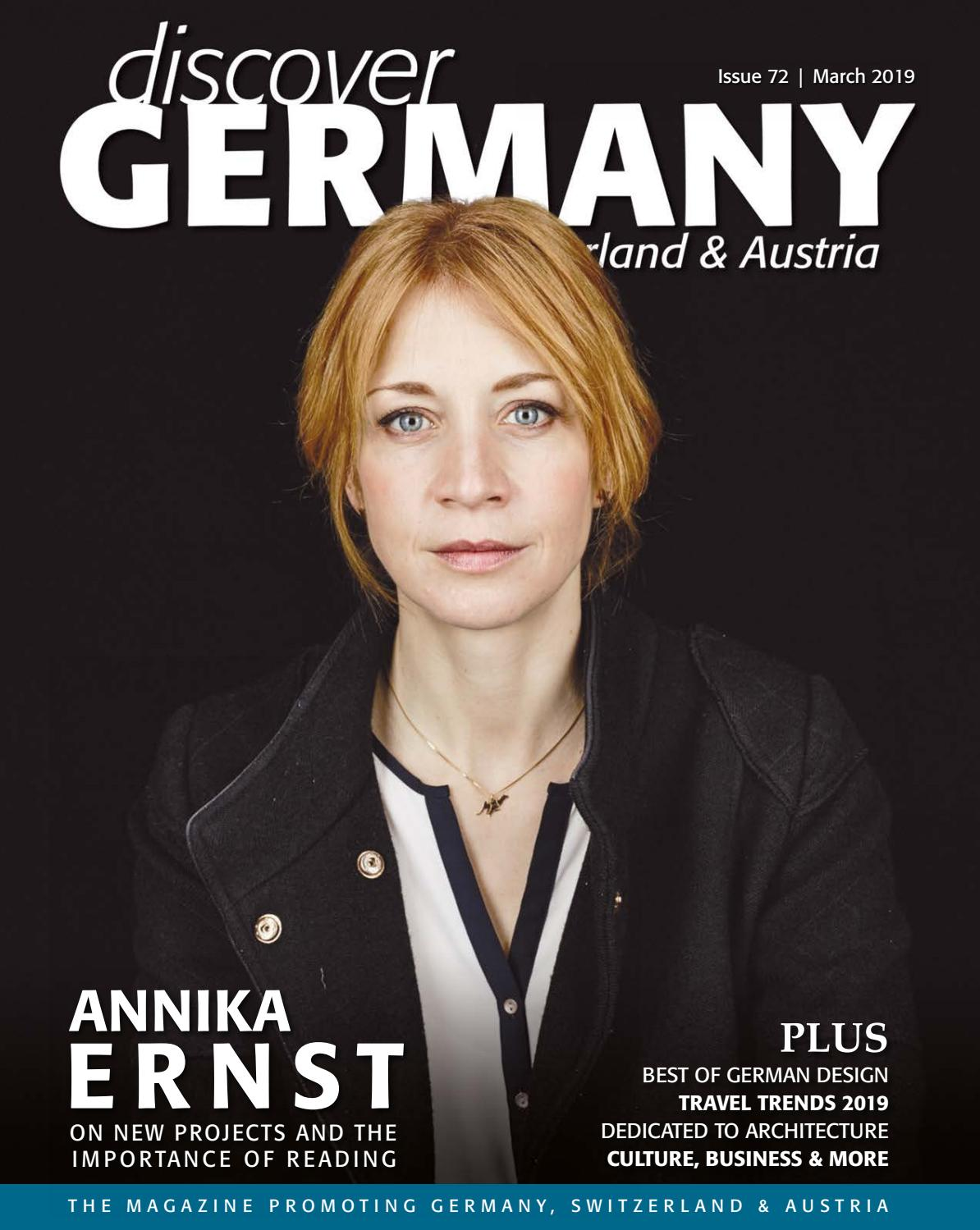 Discover Germany Issue 72 March 2019 By Scan Client Publishing