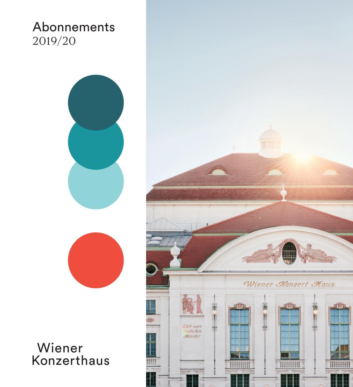 Abo Broschure 2019 20 By Wiener Konzerthaus Issuu