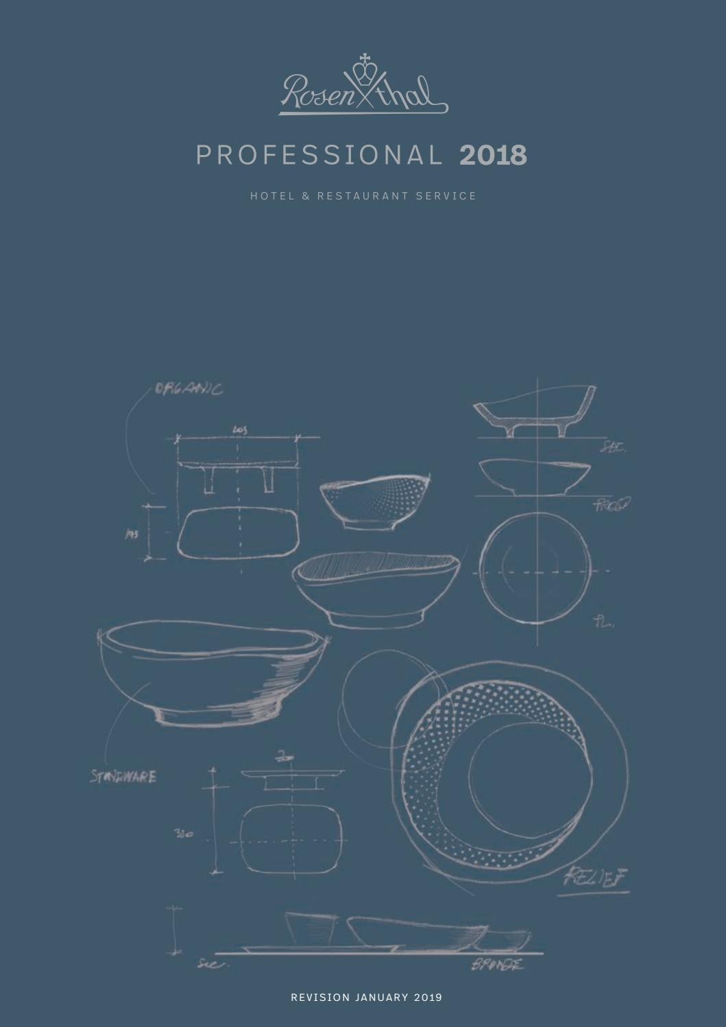 rosenthal professional 2019 by b n
