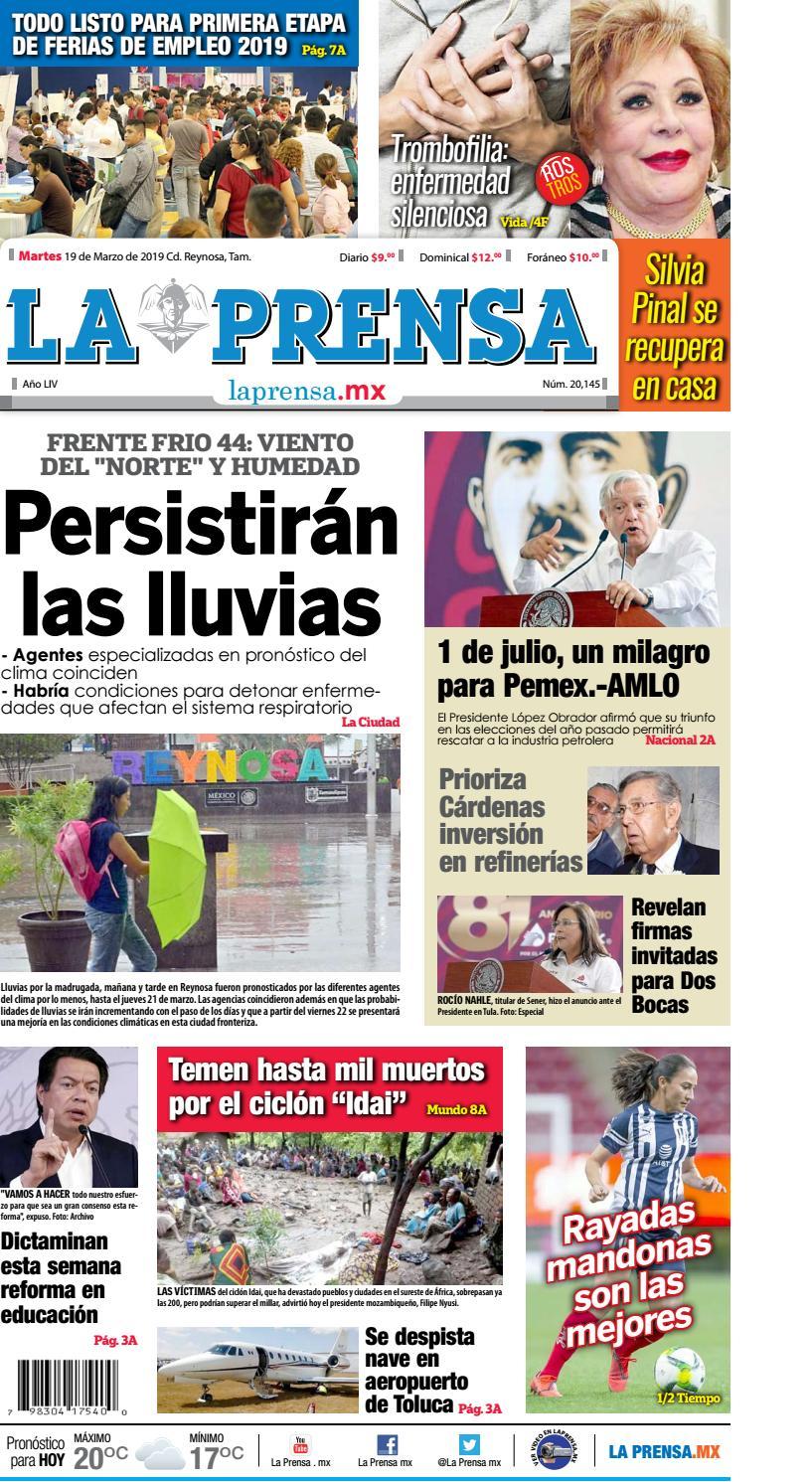 La Prensa By La Prensa De Reynosa Issuu