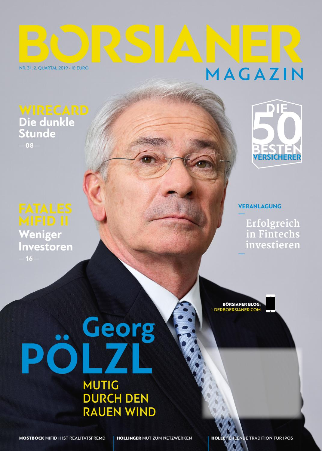 Borsianer 31 Ausgabe Q2 2019 By Borsianer Issuu