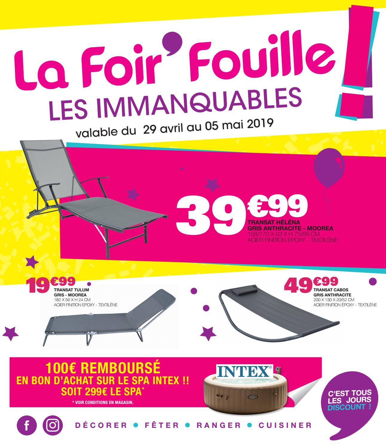 Catalogue Les Immanquables Mai 2019 By La Foir Fouille Issuu