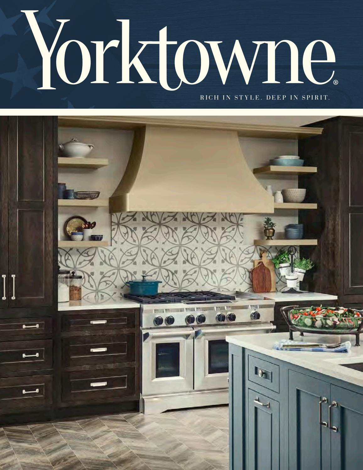 Yorktowne Cabinetry 2019 Catalog By Whit Anderson0192 Issuu