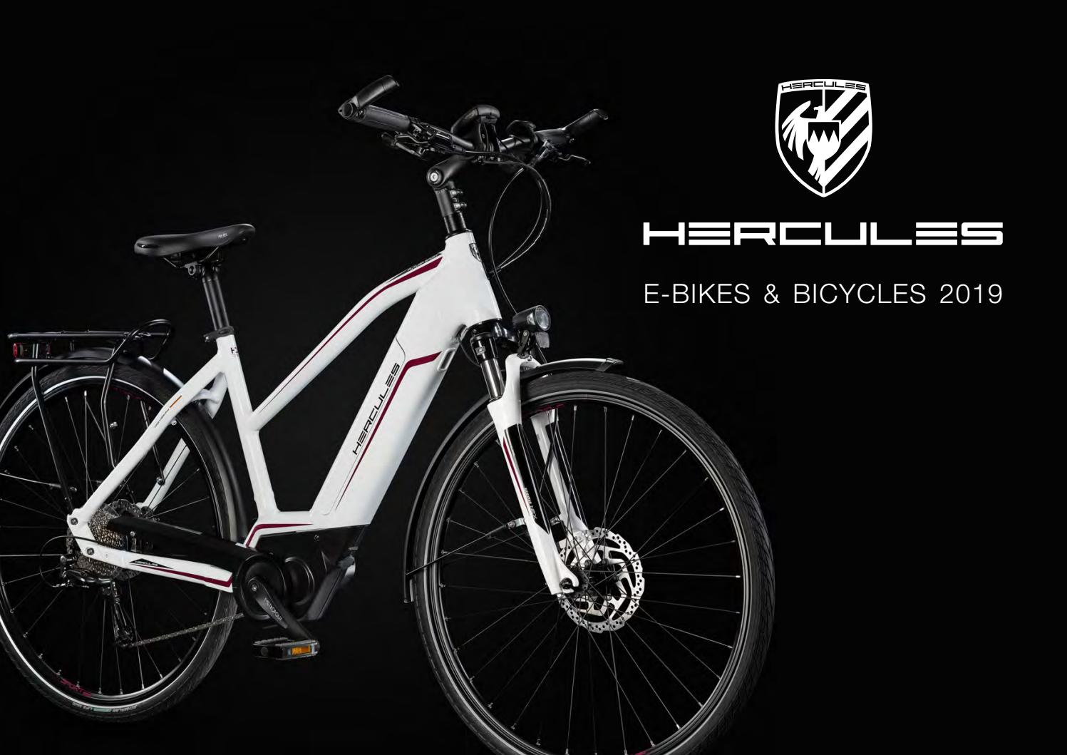Catalogo Hercules E Bike 2019 By Ebikemag Com Issuu