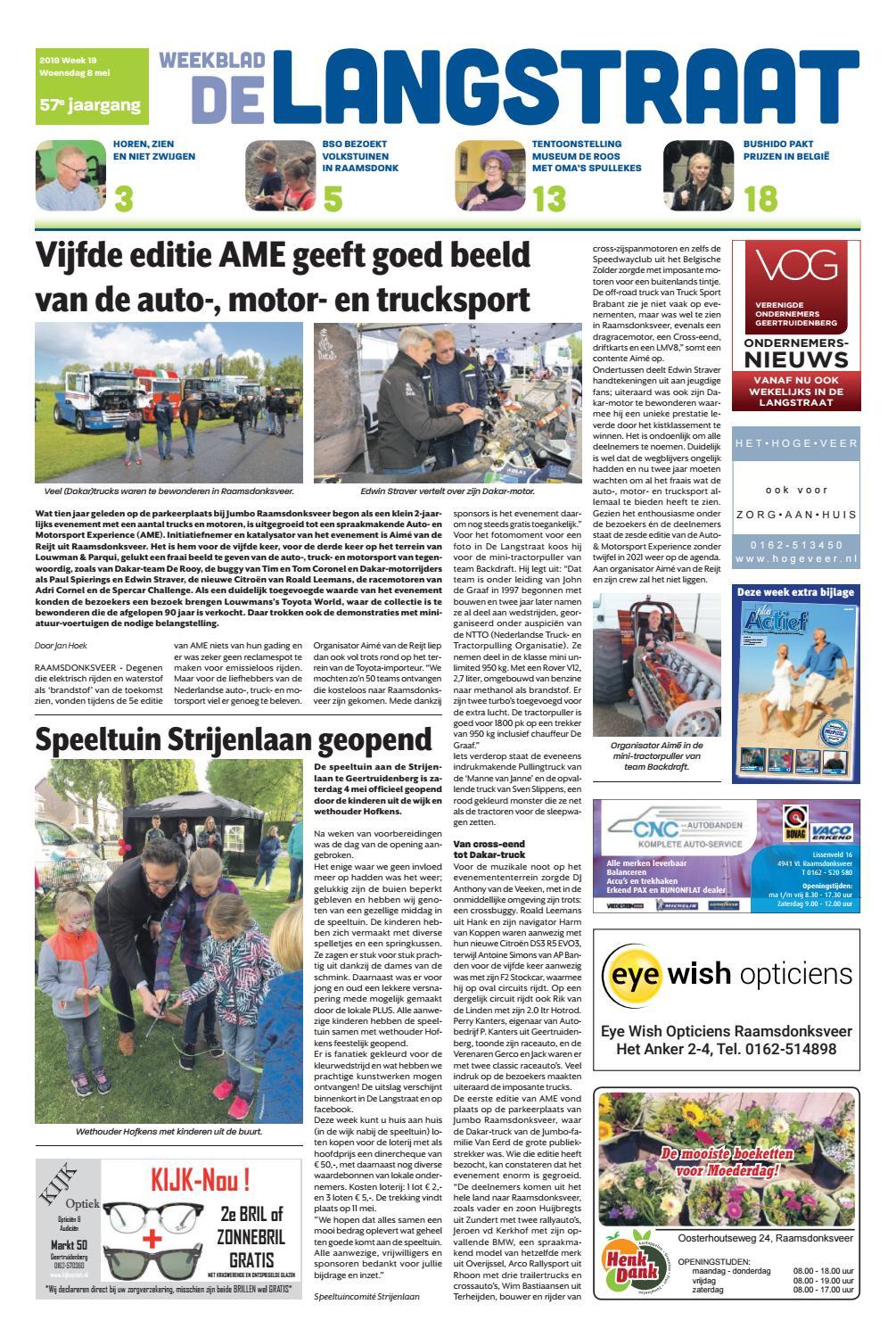 De Langstraat 08 05 2019 By Uitgeverij Em De Jong Issuu