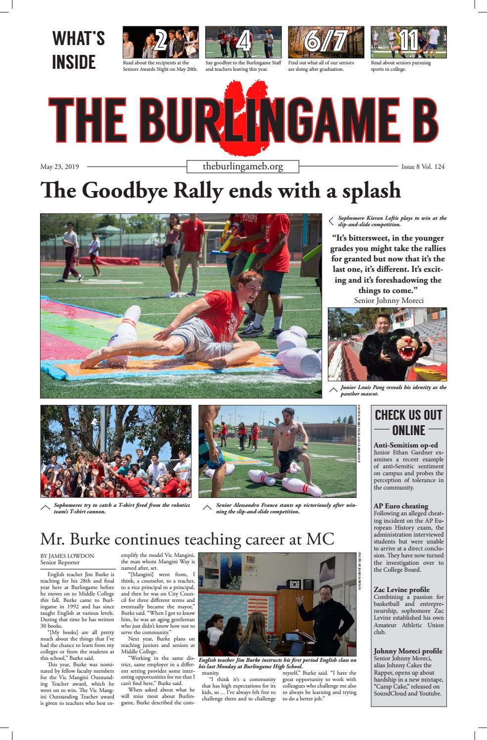 May Issue By The Burlingame B Newspaper Issuu