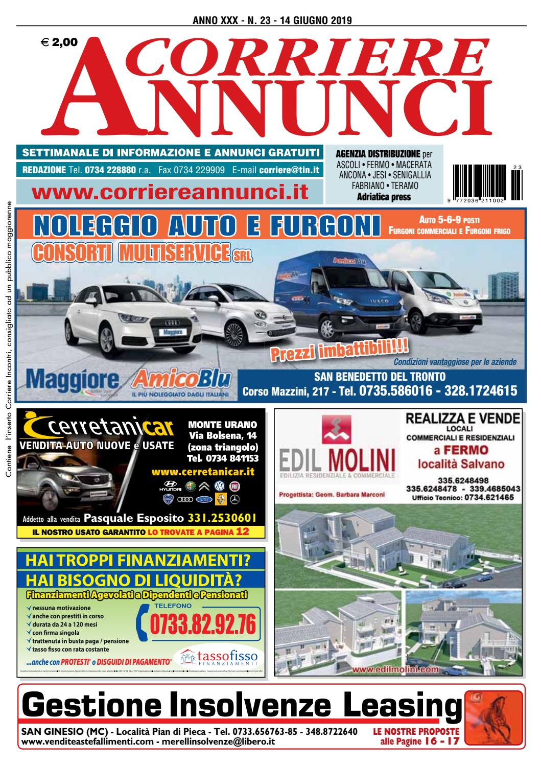 Corriere 23 2019 By Corriere Annunci Issuu