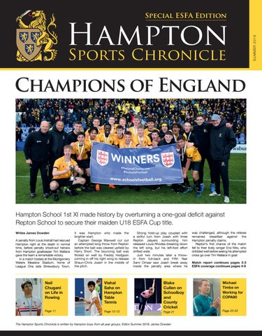 Image result for hampton sports chronicle
