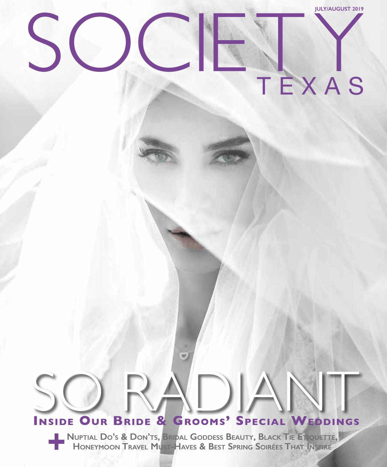 Society Texas July August 2019 By Societytexas Issuu