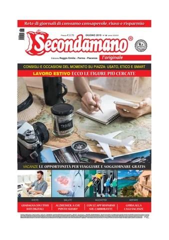 Secondamano Parma Piacenza Reggio Emilia Giugno 2019 By Edit