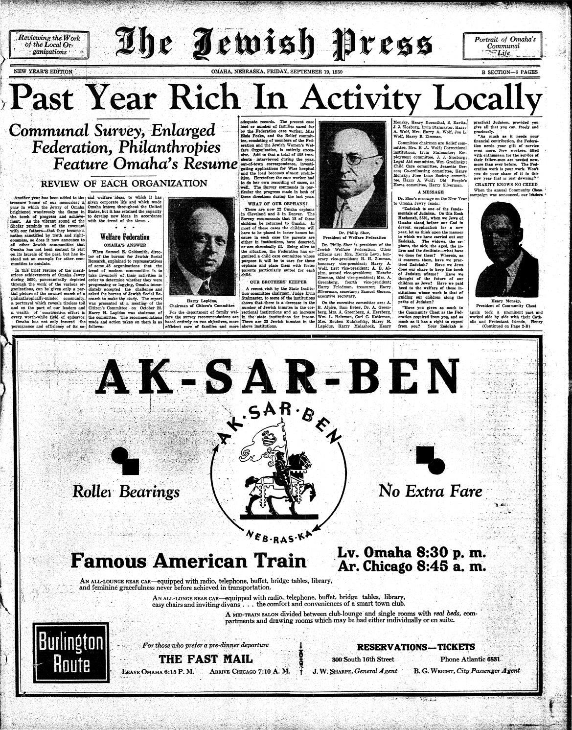 September 19 1930 Rosh Hashanah Edition By Jewish Press Issuu