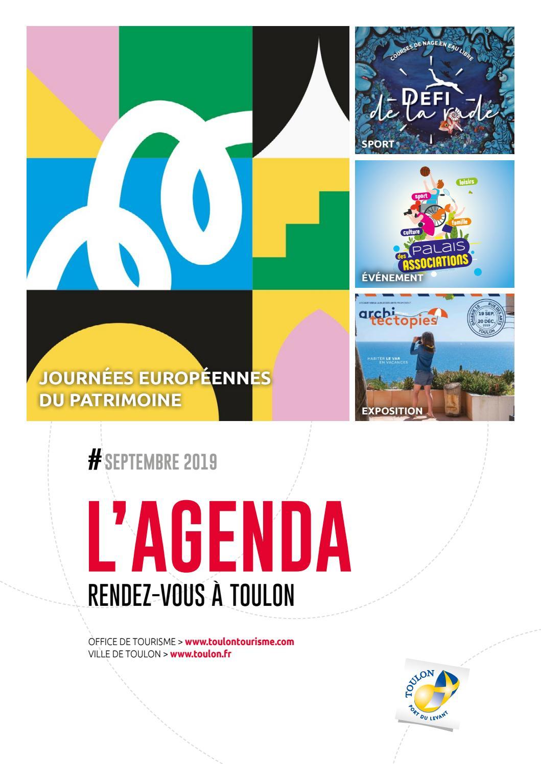 Agenda Du Mois De Septembre 2019 De La Ville De Toulon By Ville De