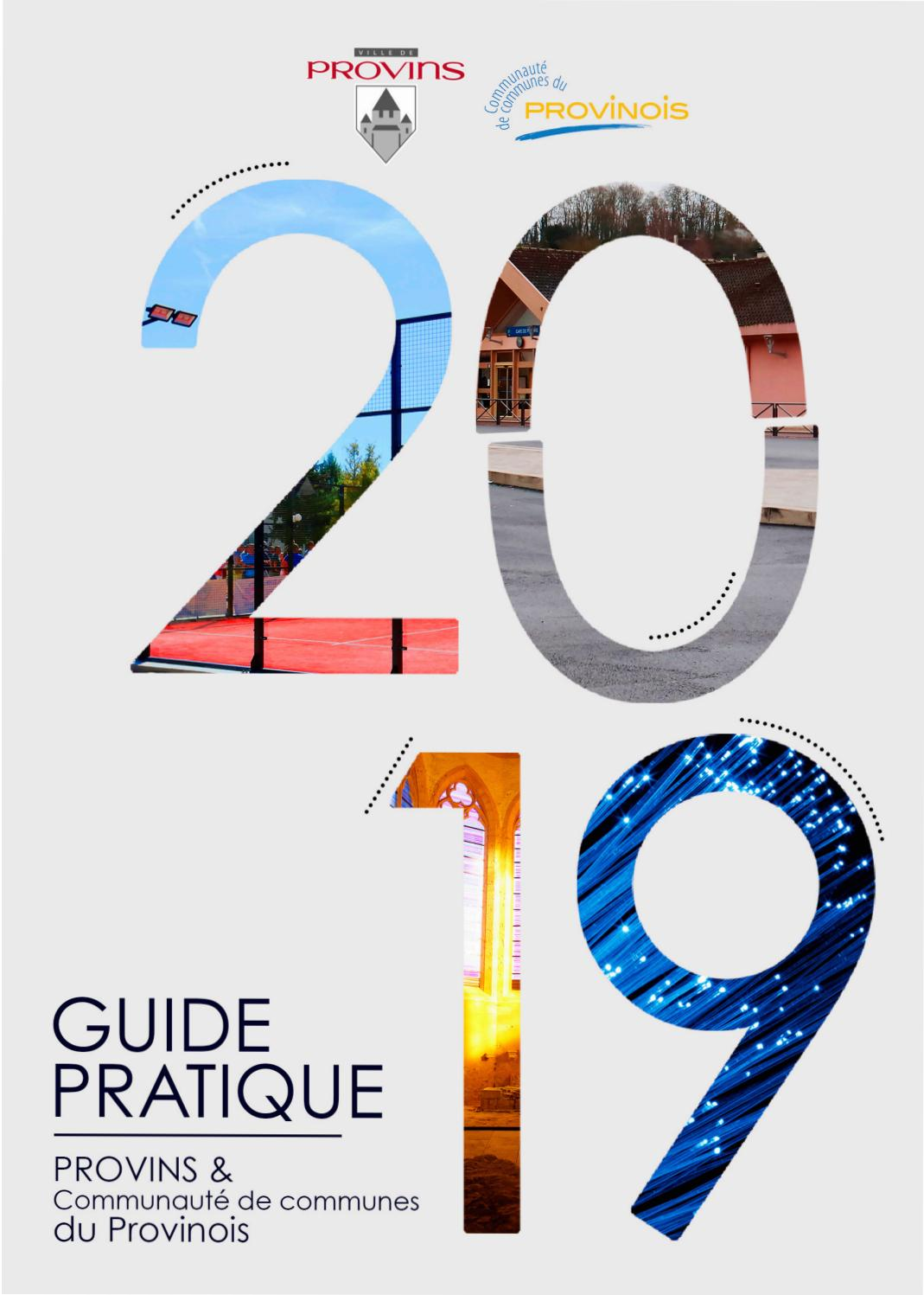 Guide Pratique 2019 2020 By Ville De Provins Issuu