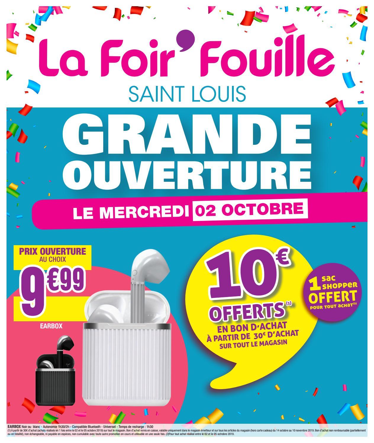 saint louis by la foir fouille