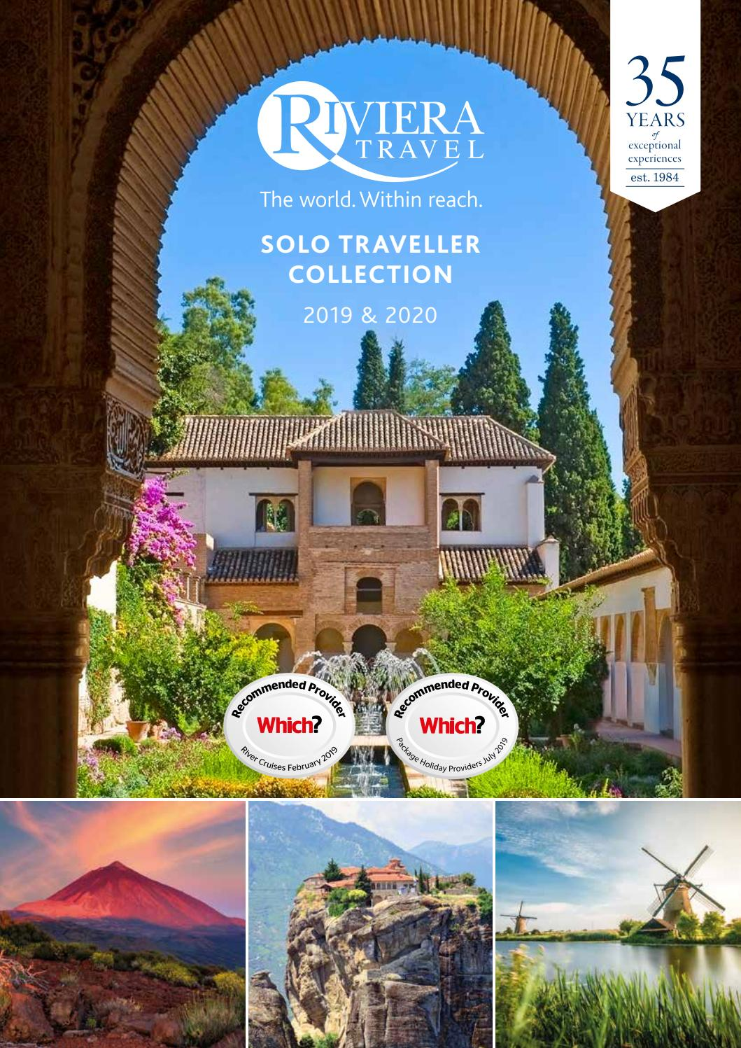 solo traveller collection 2019 2020