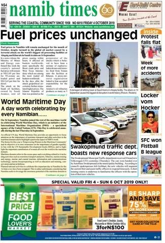 04 Oct Namib Times E Edition By Namib Times Virtual Issuu