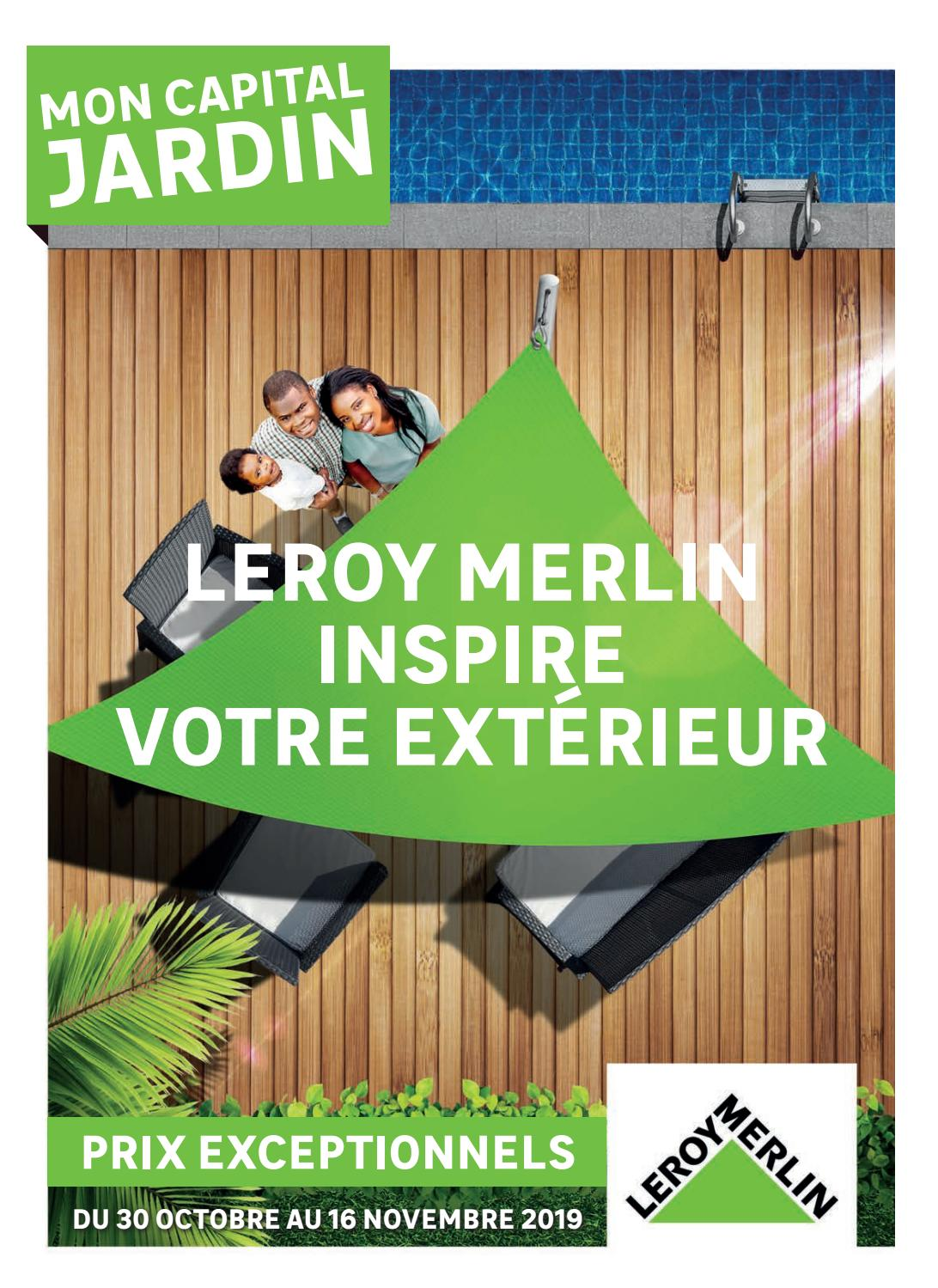 Leroy Merlin Inspire Votre Exterieur By Agencecourtcircuit Issuu