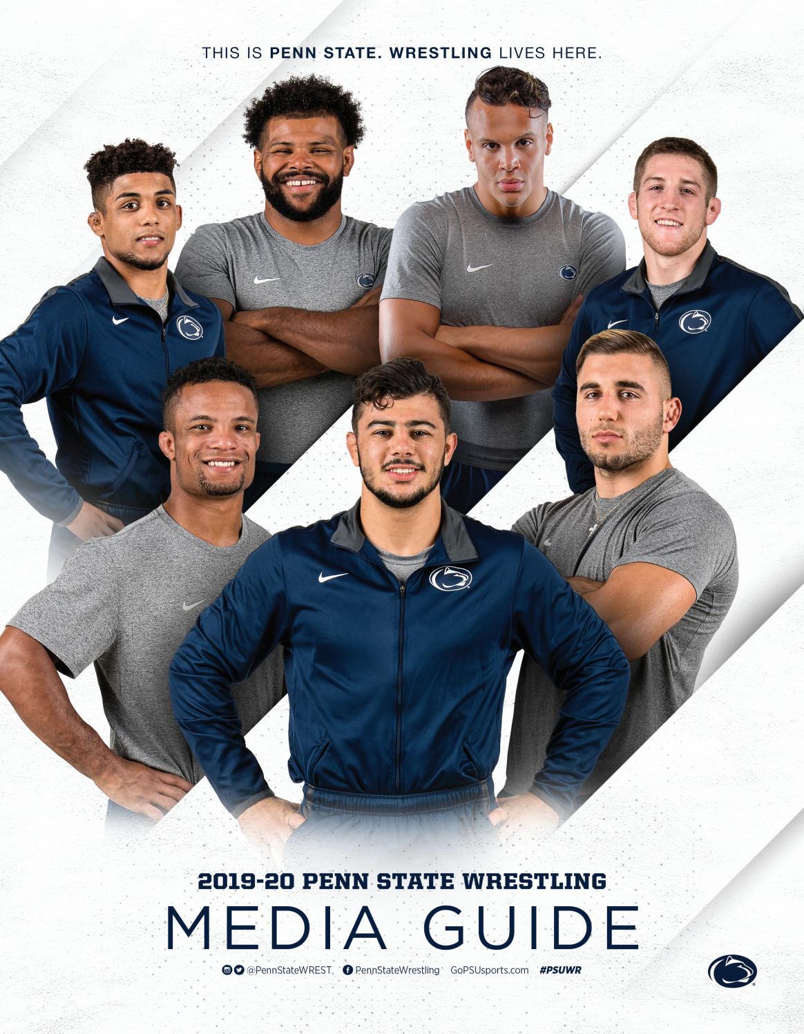penn state nittany lion wrestling 2019